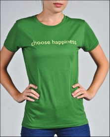 choose happiness green